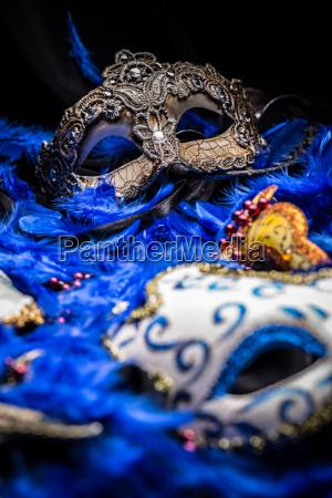 female carnival masks