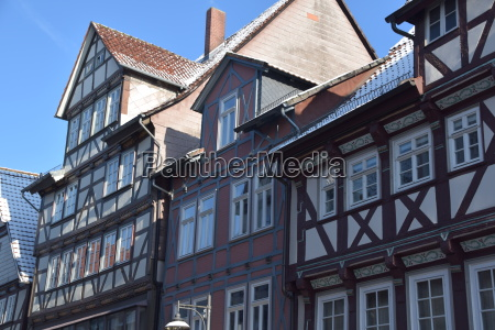 half timbered houses in hann munden