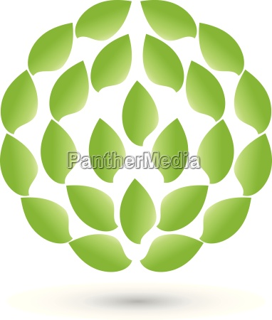 leaves in a circle logo naturopath