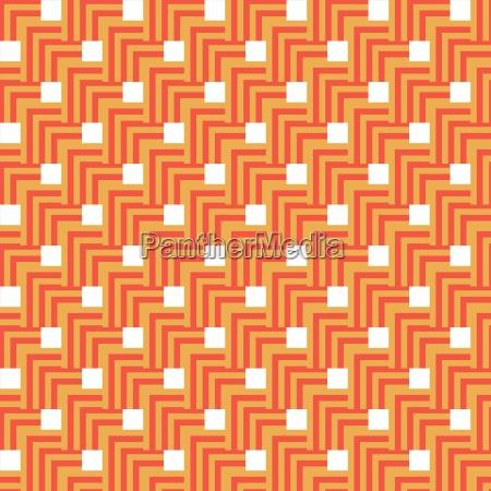 seamless orange abstract modern pattern