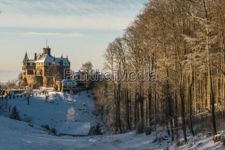 the berlepsch castle in witzenhausen in