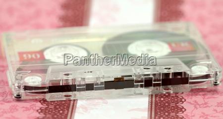 compact cassette sound carrier medium