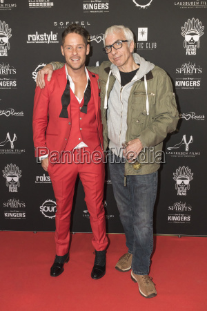 ralf richter on the red carpet