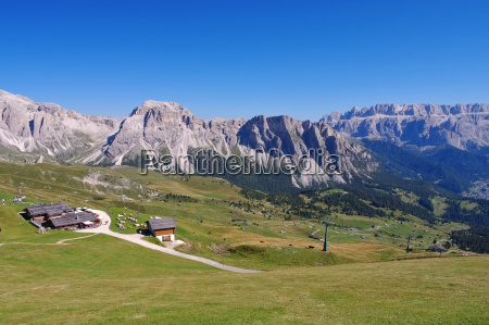 sella group in the dolomites