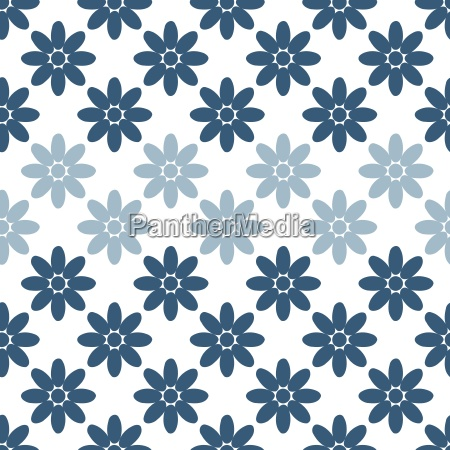 seamless colorful abstract flower pattern from