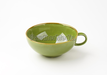 green soup bowl