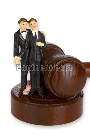 separation of the registered partner
