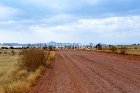 fantastic namibia desert landscape