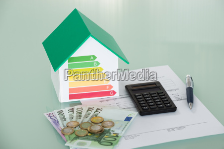 energy efficiency rate with invoice and