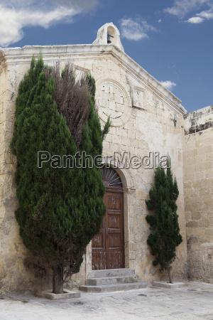old church in old city mdina