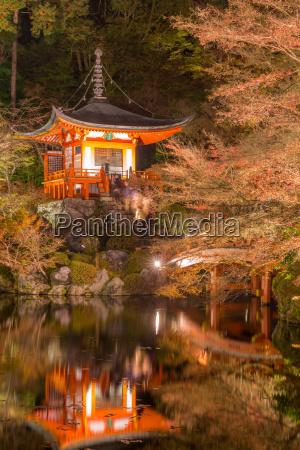 daigoji temple kyoto japan
