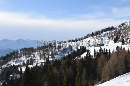 winter sports winter snow ski area