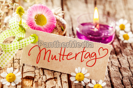 still life celebrating muttertag or mothers