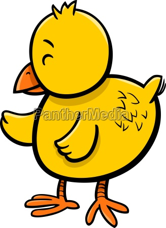 little chick cartoon character