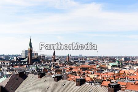 copenhagen panoramic view