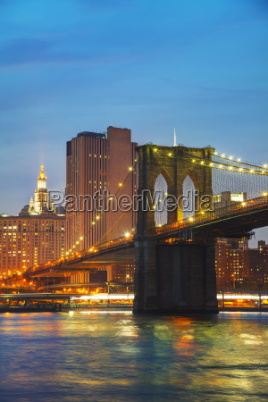 new york city cityscape in the