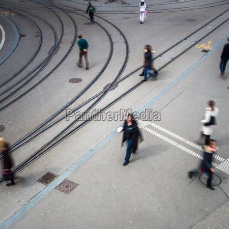 urban traffic concept city street