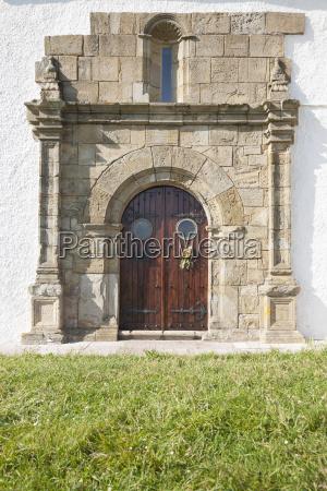 ancient door of hermitage