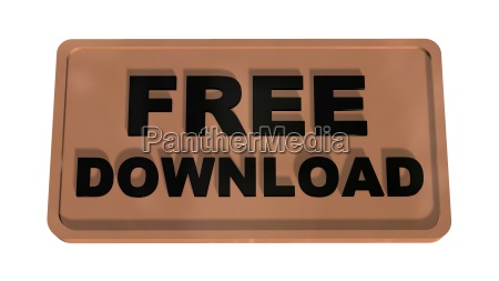 free download button on white background