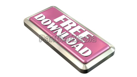 free download button isolated on