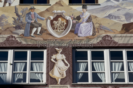 luftmalerei in garmish partenkirchen