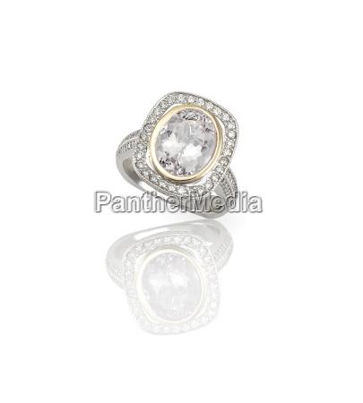 engagment wedding ring diamond solitaire cushion