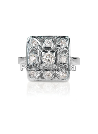 vintage antique diamond solitaire engagment wedding