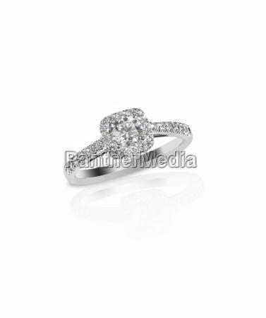 beautiful diamond wedding engagment band ring