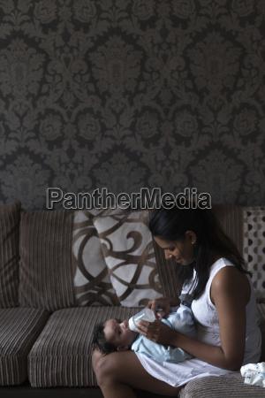 baby feeding time
