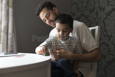 father and son bonding
