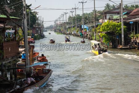 thailand damnoen saduak december 14