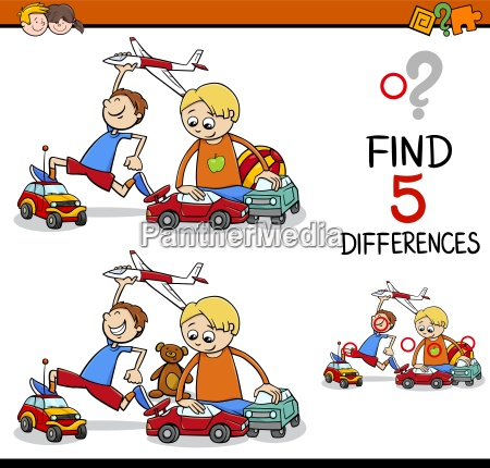 find the differences activity