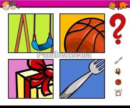 preschool educational activity