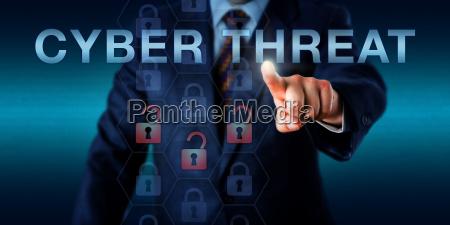 intelligence provider pressing cyber threat