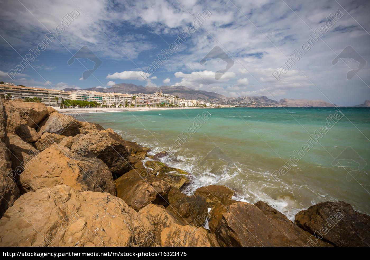 coastal, line, seascape - 16323475