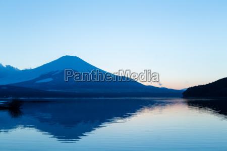lake, yamanaka, and, mountain, fuji - 16323321