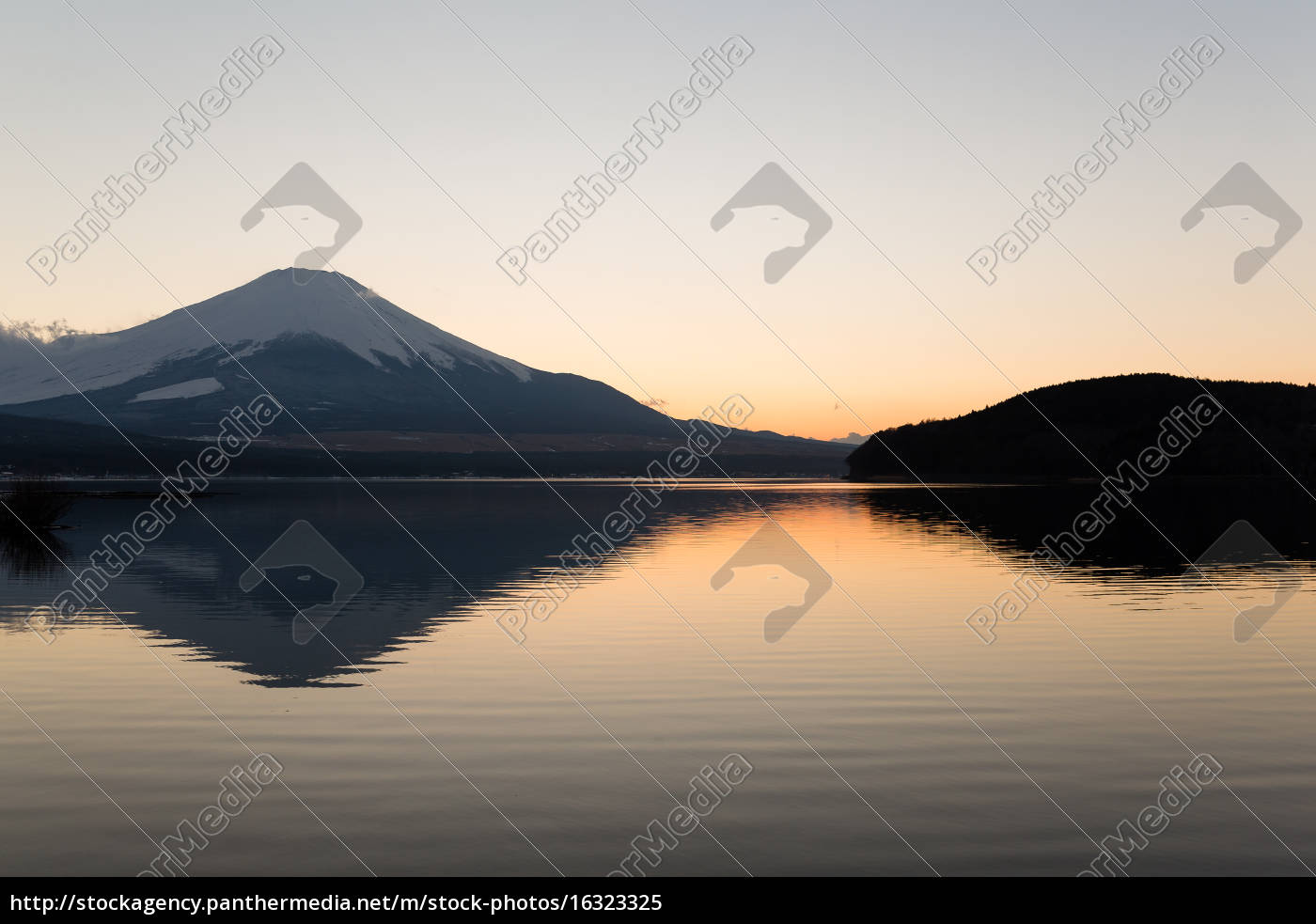 mount, fuji, at, lake, yamanaka, during - 16323325