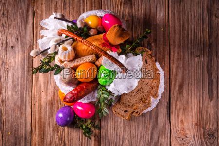 basket, of, food - 16324919