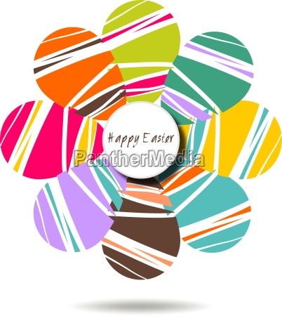 cheerful, easter, background, with, colorful, decorated - 16324493