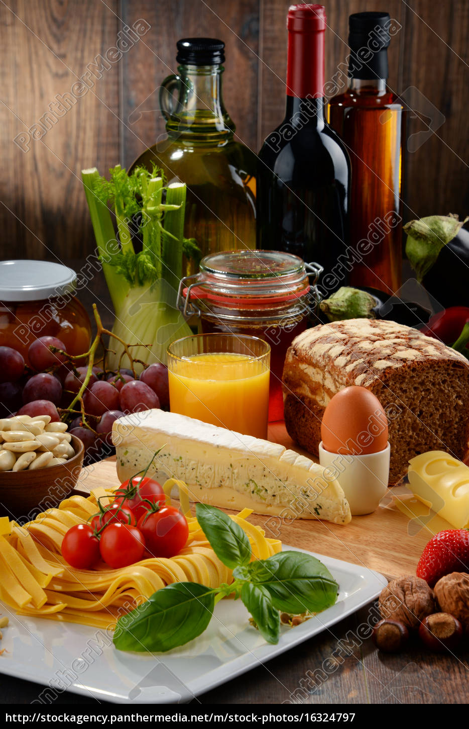 composition, with, variety, of, organic, food - 16324797