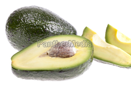 some, pieces, of, avocado, isolated, on - 16324649