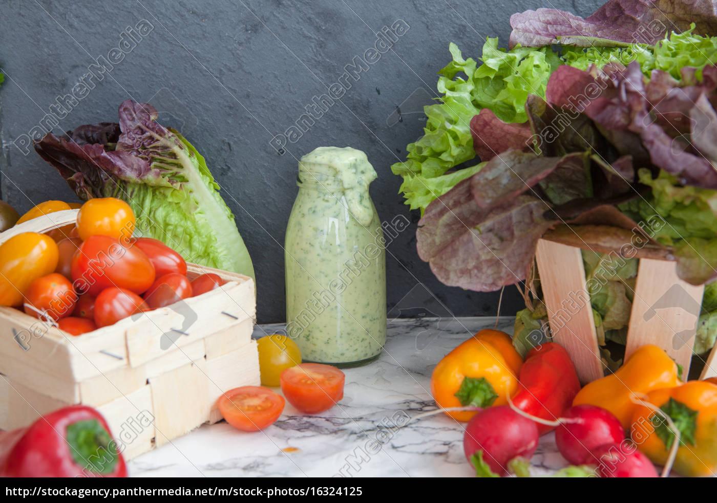 various, fresh, vegetables - 16324125