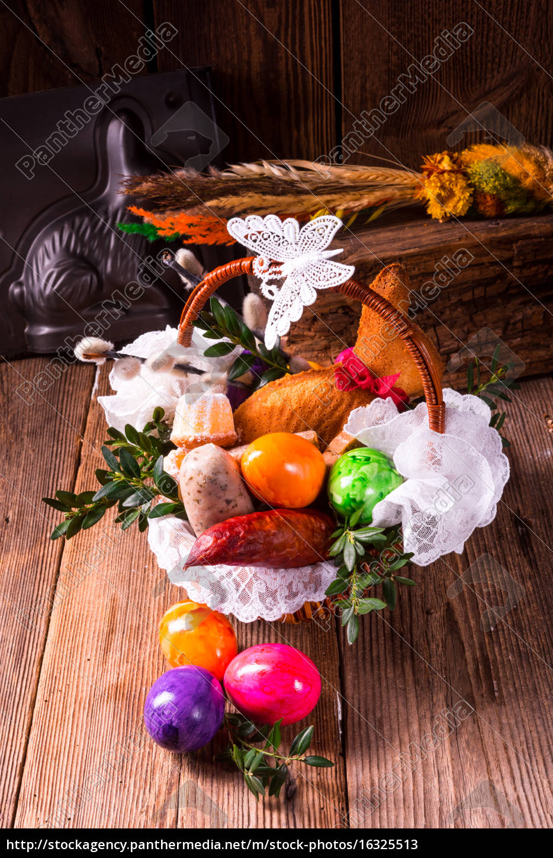 basket, of, food - 16325513