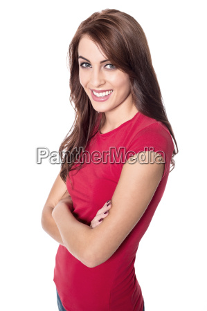 woman with brighter smile