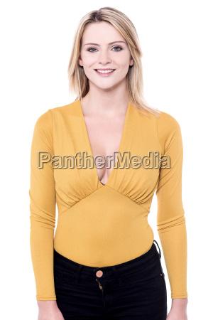 pretty, lady, in, party, wear - 16327203