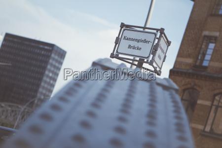 germany hamburg old warehouse district sign
