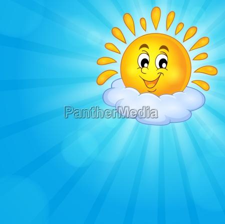 cheerful sun theme image 3