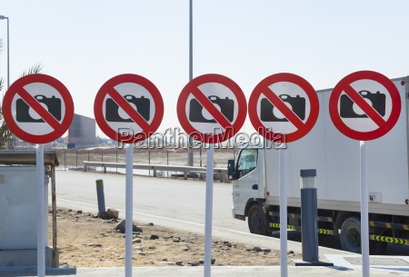 united arab emirates dubai signs forbidden