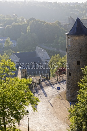 luxembourg luxembourg city view to the