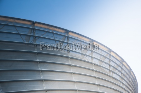 south africa cape town facade of